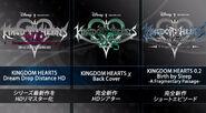 Kingdom Hearts HD 2.8 Final Chapter Prologue titles