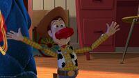 Woody during Strange Things