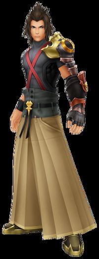 Terra in Kingdom Hearts BBS