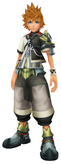 Ventus in Kingdom Hearts BBS