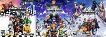 Kingdom Hearts HD Art Covers