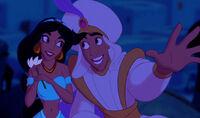 A Whole New World Aladdin and Jasmine
