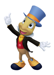 Jiminy Cricket in Kingdom Hearts
