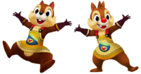 Chip and Dale in Kingdom Hearts