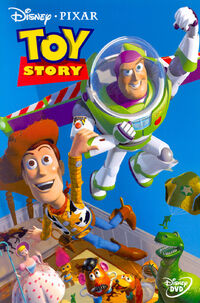 Toy Story DVD cover