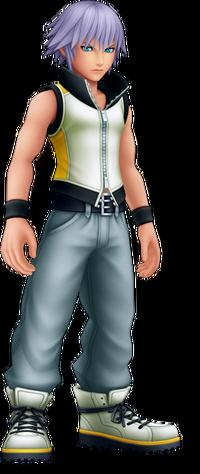 Riku in Kingdom Hearts 3D