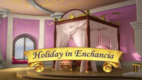 Holiday in Enchancia title card