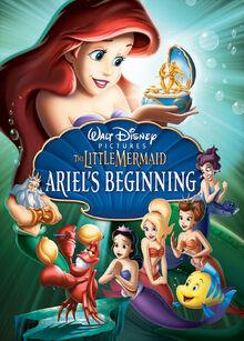 The Little Mermaid Ariel's Beginning poster