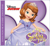 Sofia the First CD cover