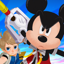 Kingdom Hearts Unchained X App Artwork