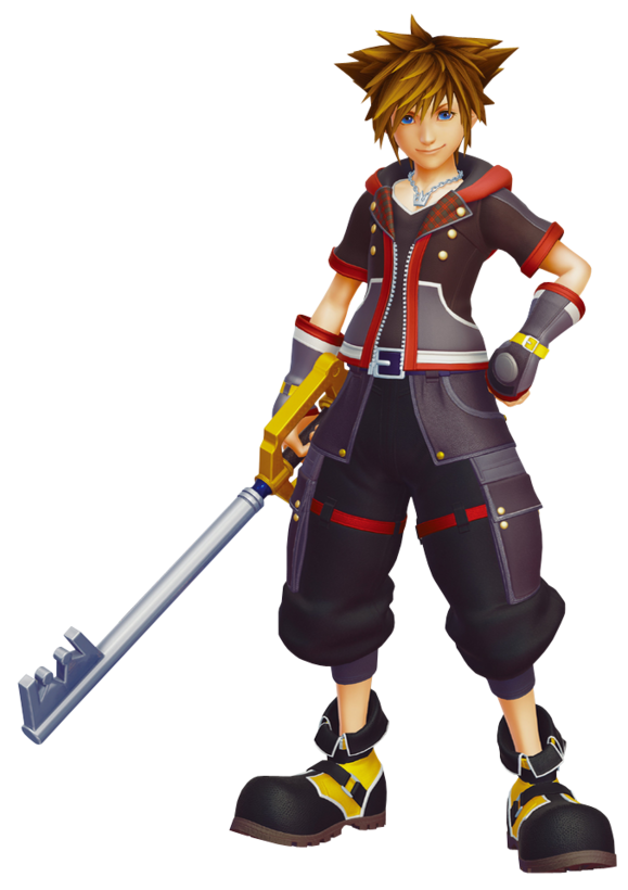 Sora in Kingdom Hearts III