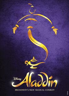 Aladdin Broadway Musical poster