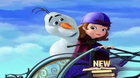 Sofia the First The Seceret Library (2016) with Olaf From Frozen HD