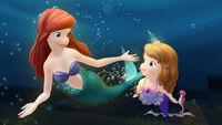 Sofia with Ariel
