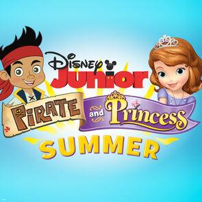 Disney Junior Pirate and Princess Summer