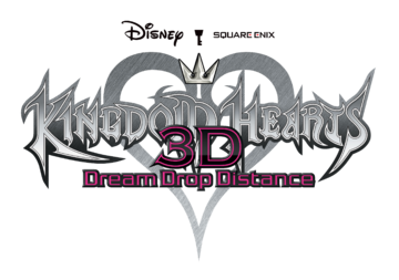 Kingdom Hearts 3D Dream Drop Distance logo