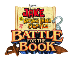 Jake and the Never Land Pirates Battle for the Book logo