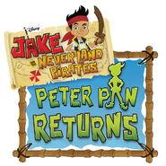 Jake and the Never Land Pirates Peter Pan Returns logo