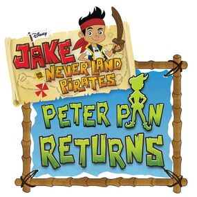 Jake and the Never Land Pirates Peter Pan Returns logo
