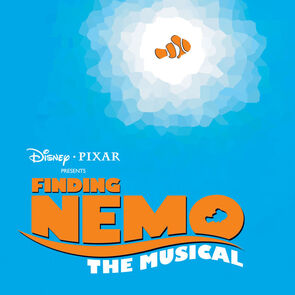 Finding Nemo The Musical Soundtrack cover