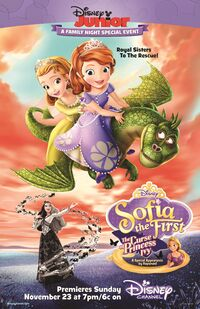 Sofia the First The Curse of Princess Ivy poster