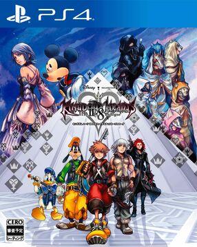 Kingdom Hearts HD 2.8 Final Chapter Prologue Art Cover