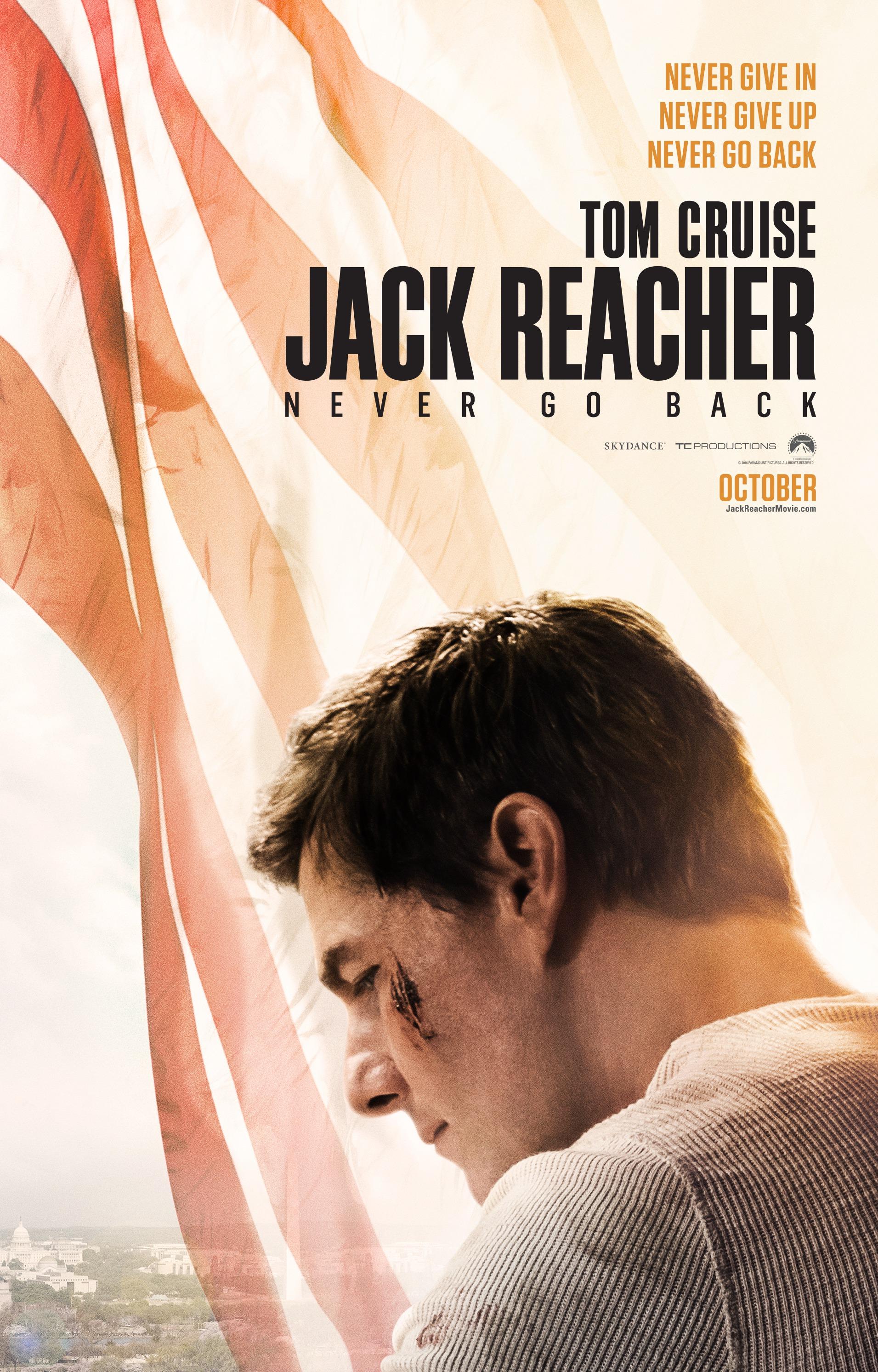 image jack reacher never go back poster jpg jack reacher wiki