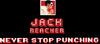 Jack Reacher Never Stop Punching logo