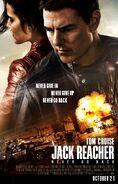 Jack Reacher Never Go Back poster 2