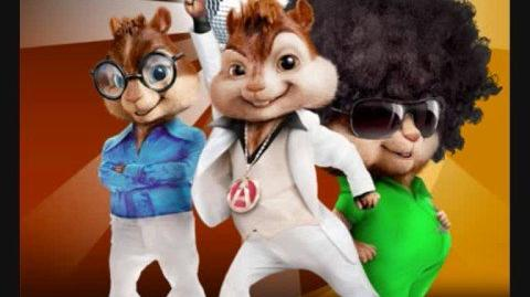 Alvin and the chipmunks playin the theme tune from jackass