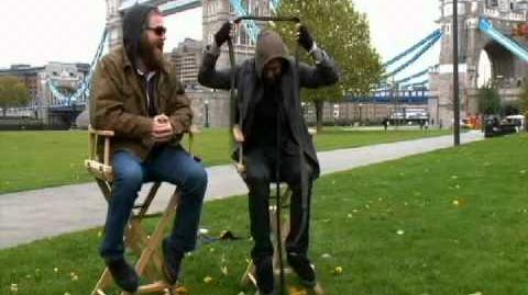 Bam Margera and the chair (R.I.P Ryan Dunn)