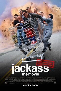 Jackass movie poster