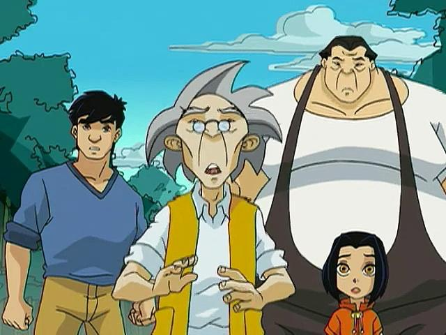 Jackie Chan Adventures S02 36 The Good, The Bad, The Blind, The Deaf And The Mute