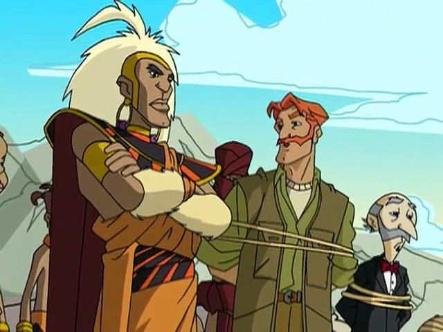 Jackie Chan Adventures S02 10 Lost City Of The Muntabs