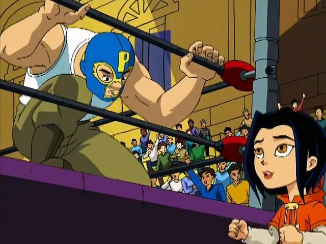 Jackie Chan Adventures S01 03 The Mask Of El Toro Fuerte