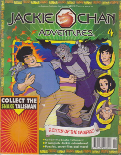 Jackie Chan Issue 4