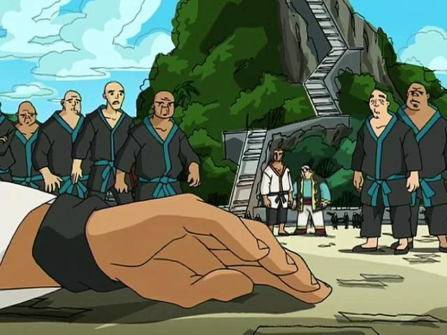 Jackie Chan Adventures S03 01 Re-Enter The J Team
