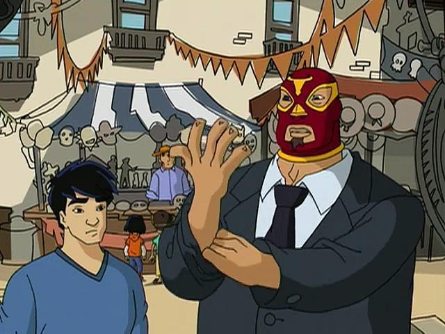 Jackie Chan Adventures S02 08 The Curse Of El Chupacabra