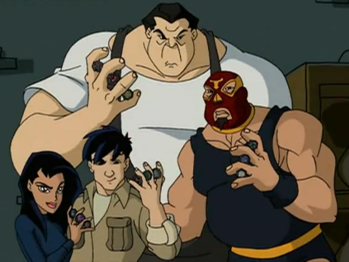 The J-Team | Jackie Chan Adventures Wiki | FANDOM powered ... - photo#13