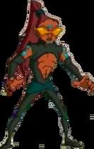 Chow as a Dark Chi Warrior