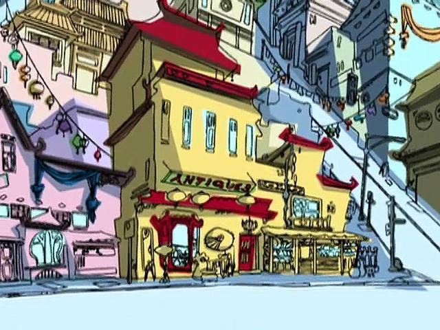 Jackie Chan Adventures S02 25 The New Atlantis