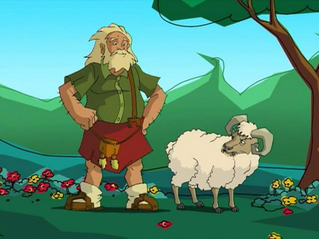 Jackie Chan Adventures S03 08 Sheep In, Sheep Out