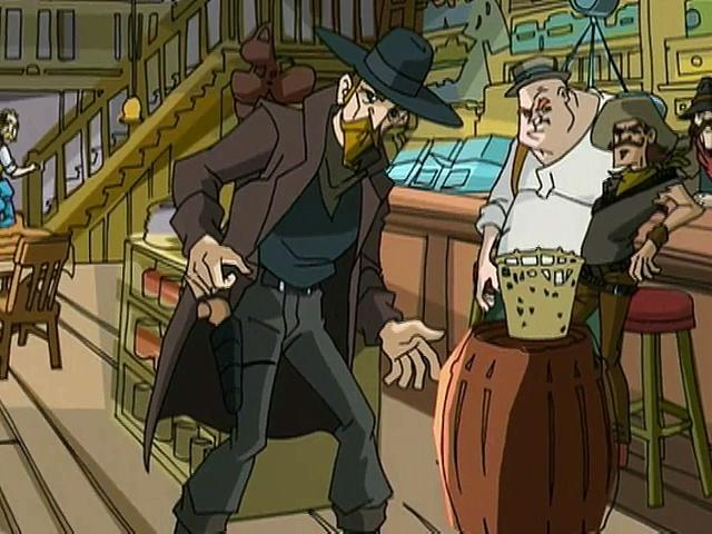 Jackie Chan Adventures S02 12 Showdown In The Old West