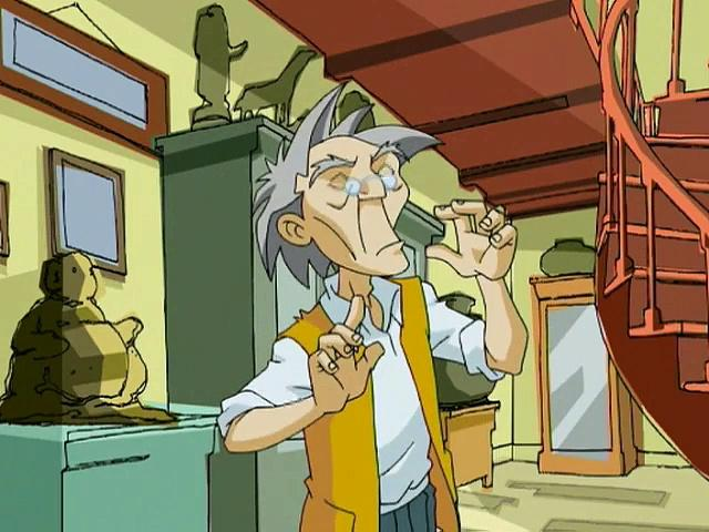 Jackie Chan Adventures S04 05 The Demon Behind