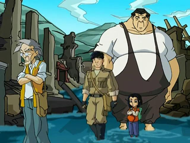 Jackie Chan Adventures S05 06 Mirror, Mirror