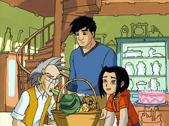 Jackie Chan Adventures S01 10 The Dog And Piggy Show