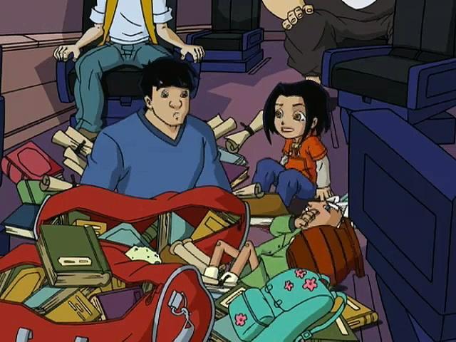 Jackie Chan Adventures S03 11 Little Valmont, Big Jade
