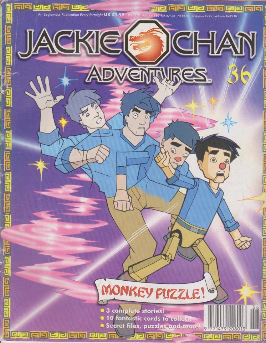 Jackie Chan Adventures Magazine 36 | Jackie Chan ...