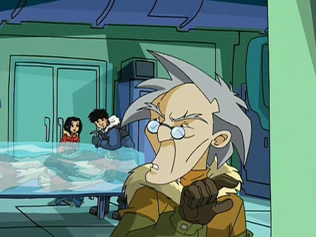Jackie Chan Adventures S02E22 Danger İn The Deep Freeze