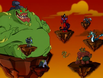 Demon Sorcerers Jackie Chan Adventures Wiki Fandom